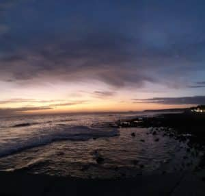 grande canaries coucher de soleil